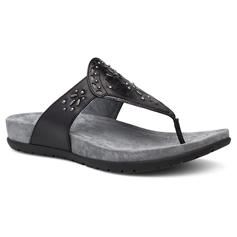 Dansko Benita Black Sandals
