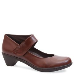 BESS LEATHER BROWN