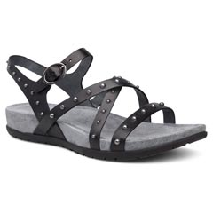 Dansko Brigitte Black Sandals