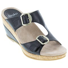 Dansko Carla Black Sandals