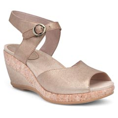 Dansko Charlotte Gold Sandals