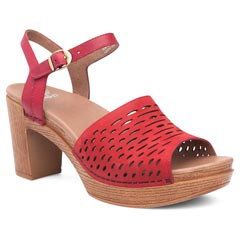 Dansko Denita Red Sandals