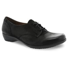Dansko Fallon Black Shoes