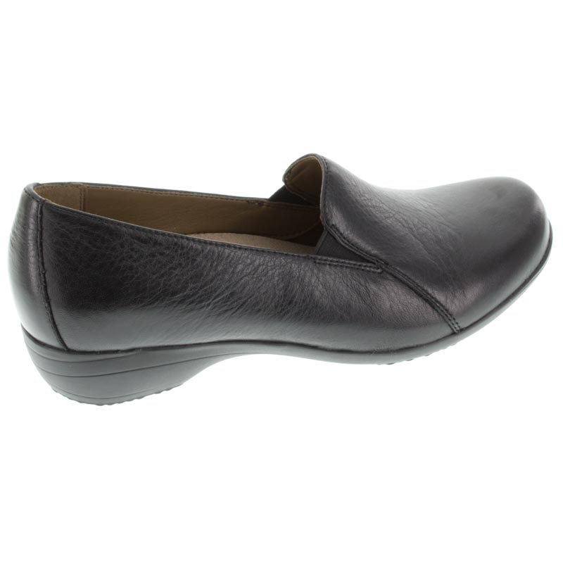 Dansko Farah Black Leather shoes right side view