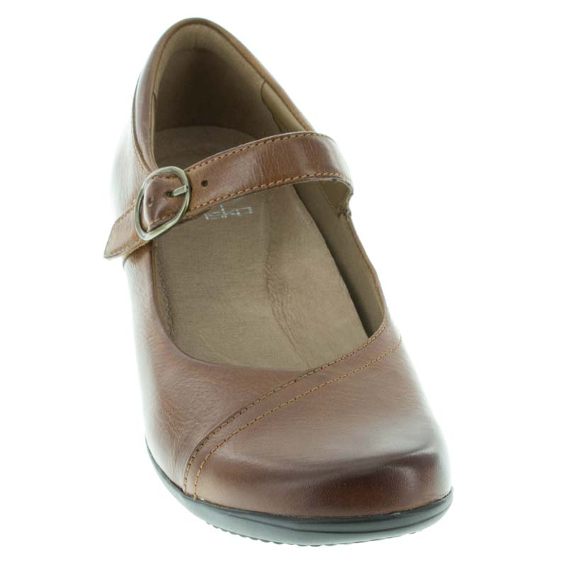Dansko Fawna Chestnut Leather front view