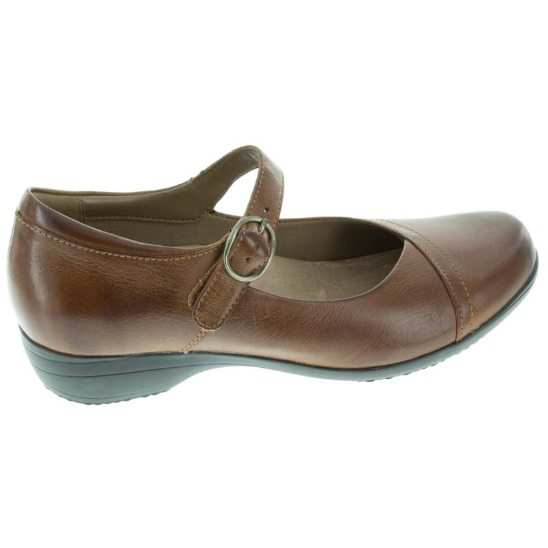 Dansko Fawna Chestnut Leather right side view