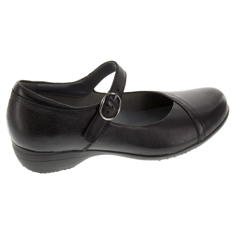Dansko Fawna Black Leather