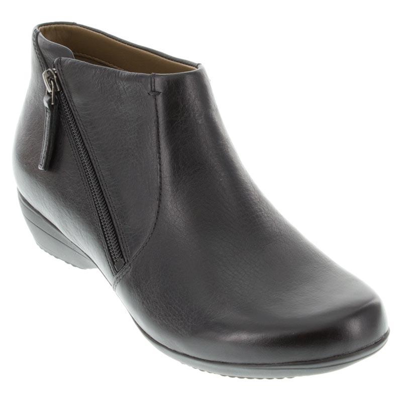 Womens Dansko Fifi Black Leather