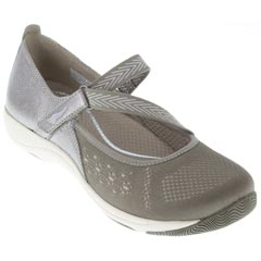 Dansko Haven Taupe Metallic Shoes