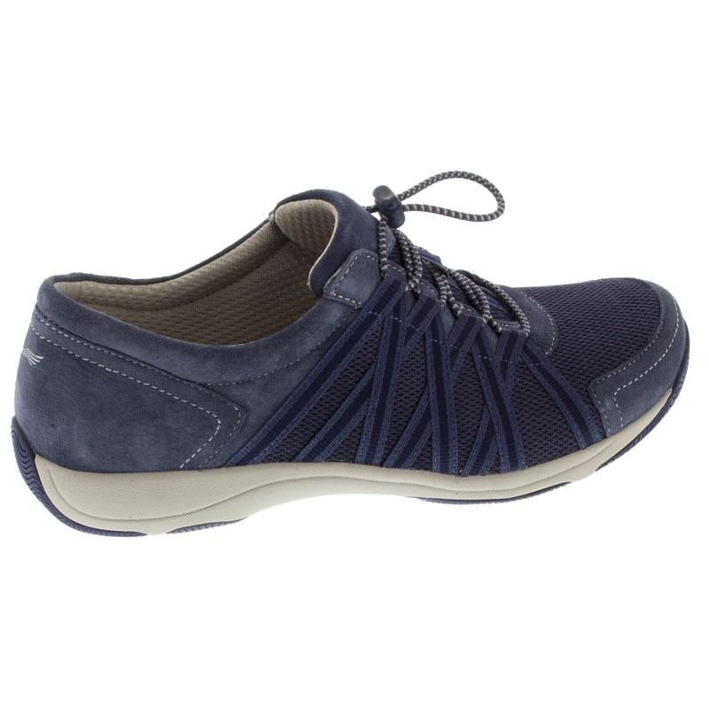Dansko Honor Blue Suede
