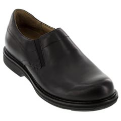Dansko Jackson Antiqued Calf Leather Black Shoes