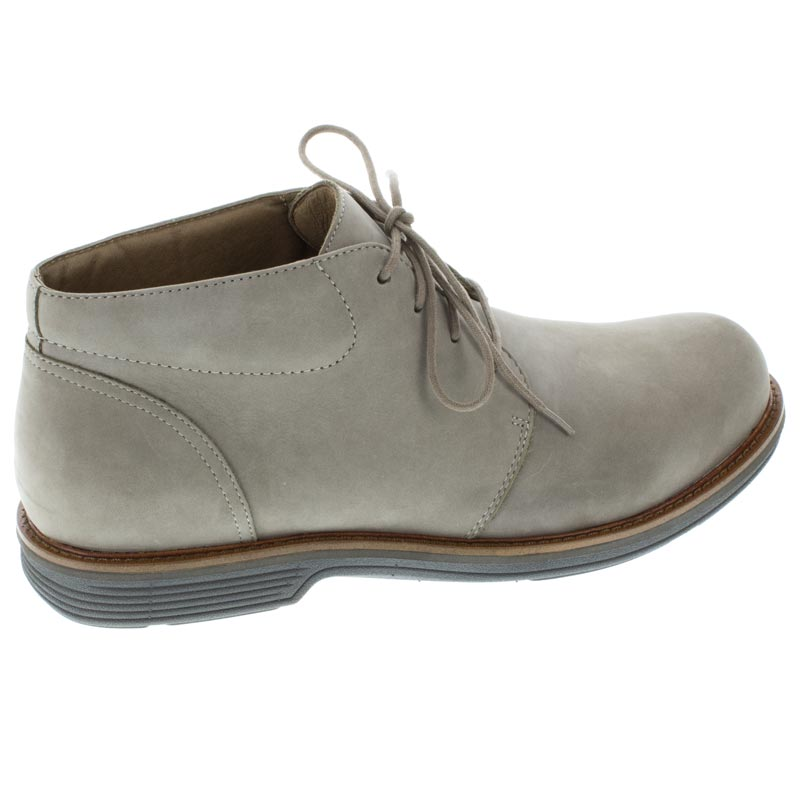 Dansko Jake Taupe Nubuck Slip-Resistant right side right shoe