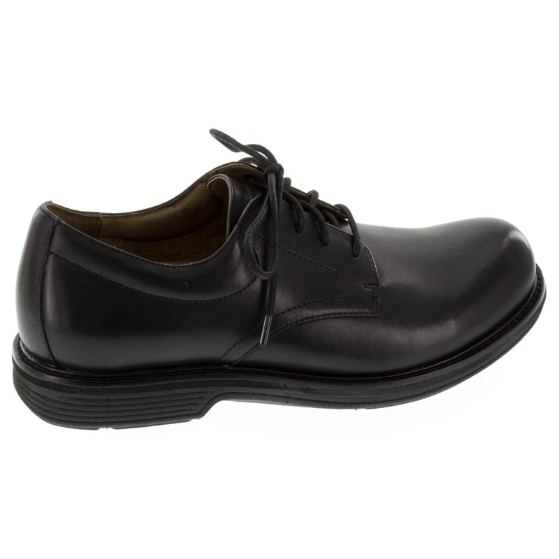 Dansko Josh Black Leather Slip-Resistant