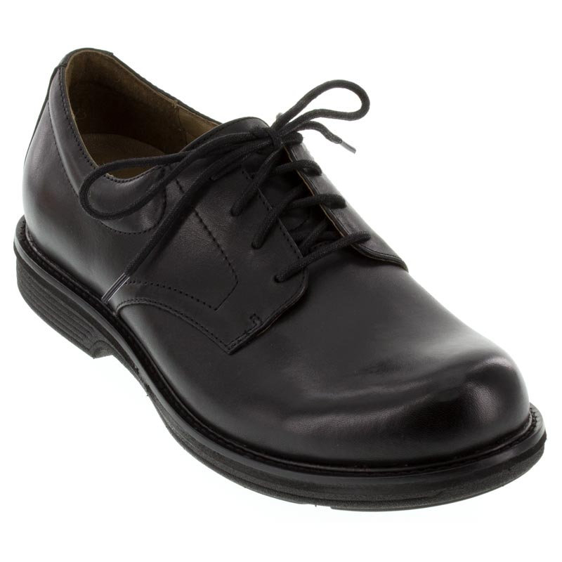 Dansko Josh Antiqued Calf Leather Black Shoes