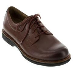 Dansko Josh Antiqued Calf Leather Mahogany Shoes