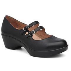 Dansko Josie Black Shoes