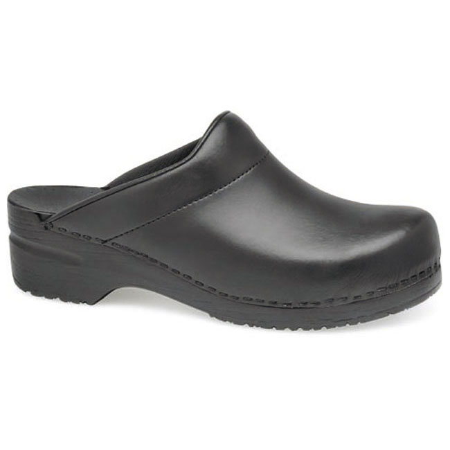 Dansko Karl Leather Black