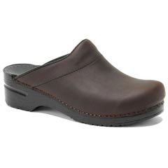 Dansko Karl Leather Antique Brown