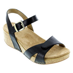Dansko Laurie Black Sandals