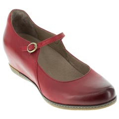 Dansko Loralie Red Shoes