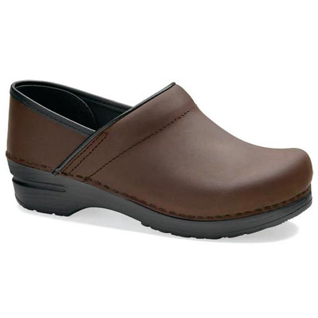 Dansko Professional Leather Antique Brown