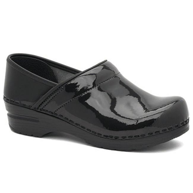 Dansko Professional Black Patent Leather 42