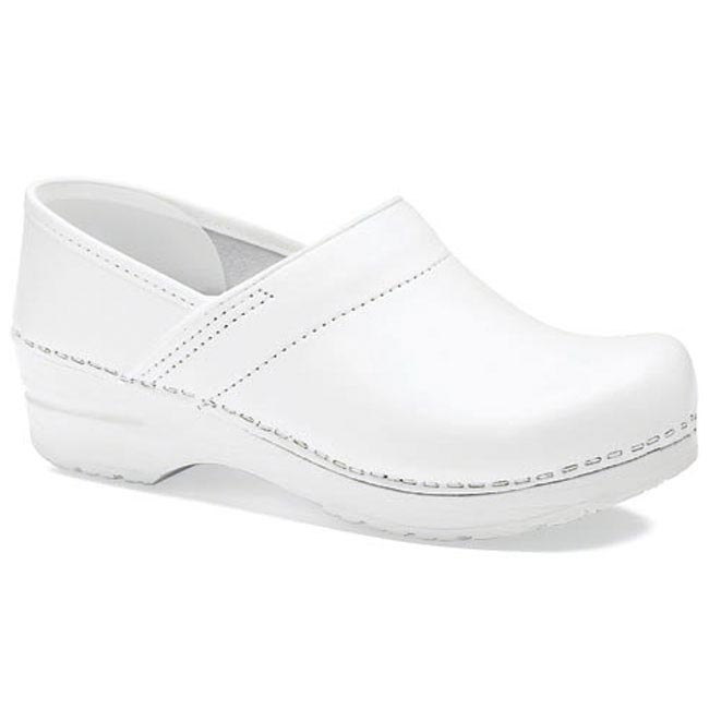 Dansko Professional Leather White