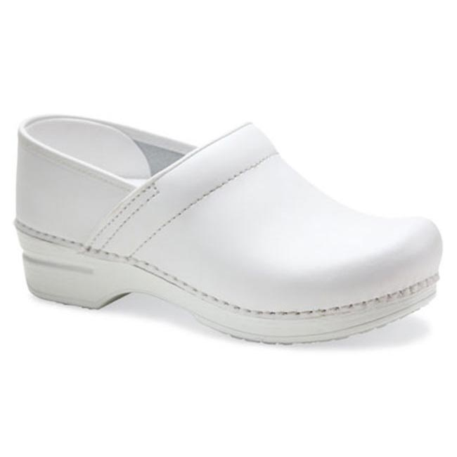 Dansko Pro X P Leather White