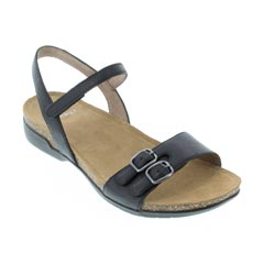 Dansko Rebekah Black Sandals