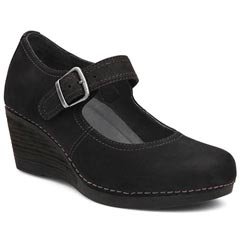 Dansko Sandra Black Shoes