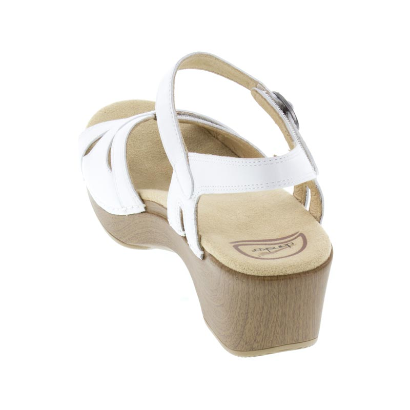 Dansko Season White Leather