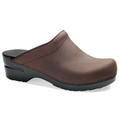 Dansko Sonja Leather Antique Brown