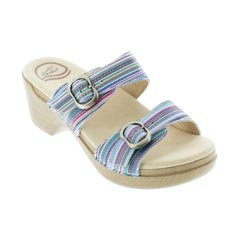 Dansko Sophie Multi Stripe Sandals