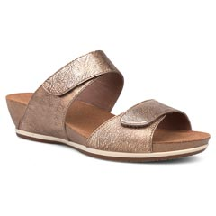 Dansko Vienna Gold Sandals
