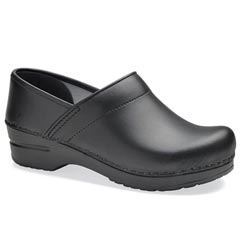 Dansko Wide Pro Box Leather Black
