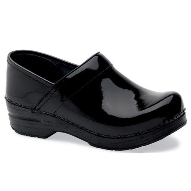 Dansko Wide Pro Patent Leather Black