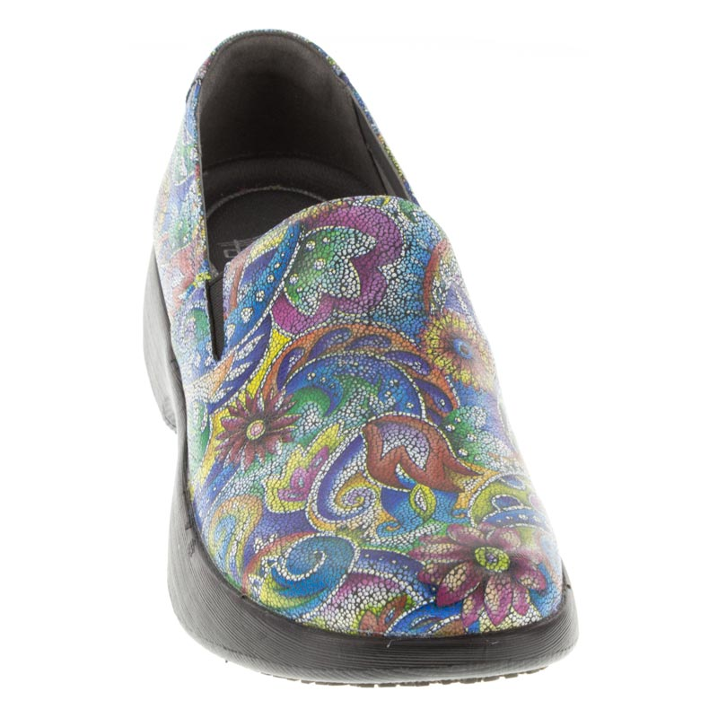 Dansko Winona Mosaic Leather Slip-Resistant front right shoe