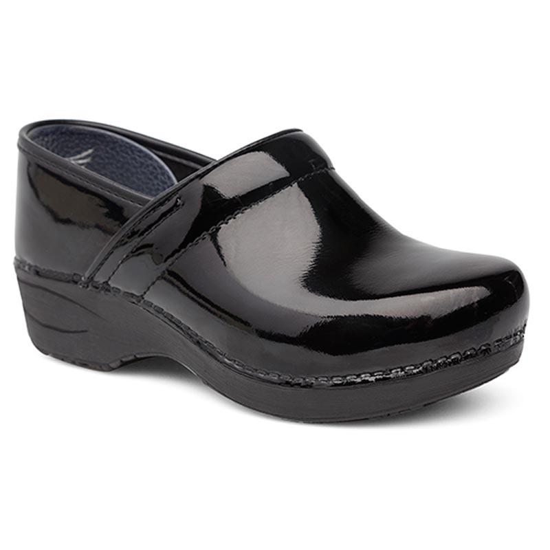 Dansko Pro Xp 2.0 Black Patent Leather Slip-Resistant 38 R