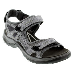 Ecco Yucatan Titanium Dark Shadow Sandals