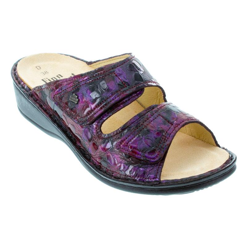Finn Comfort Jamaica Viola Odessa Leather Soft Footbed 40