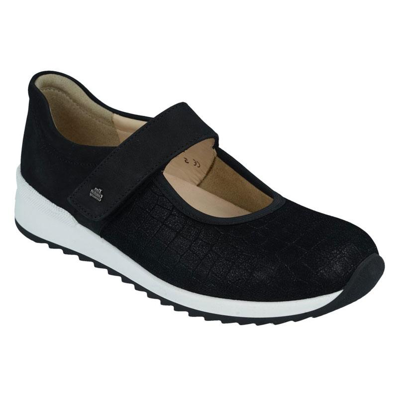 Finn Comfort Assenza Black Leather 5 Uk