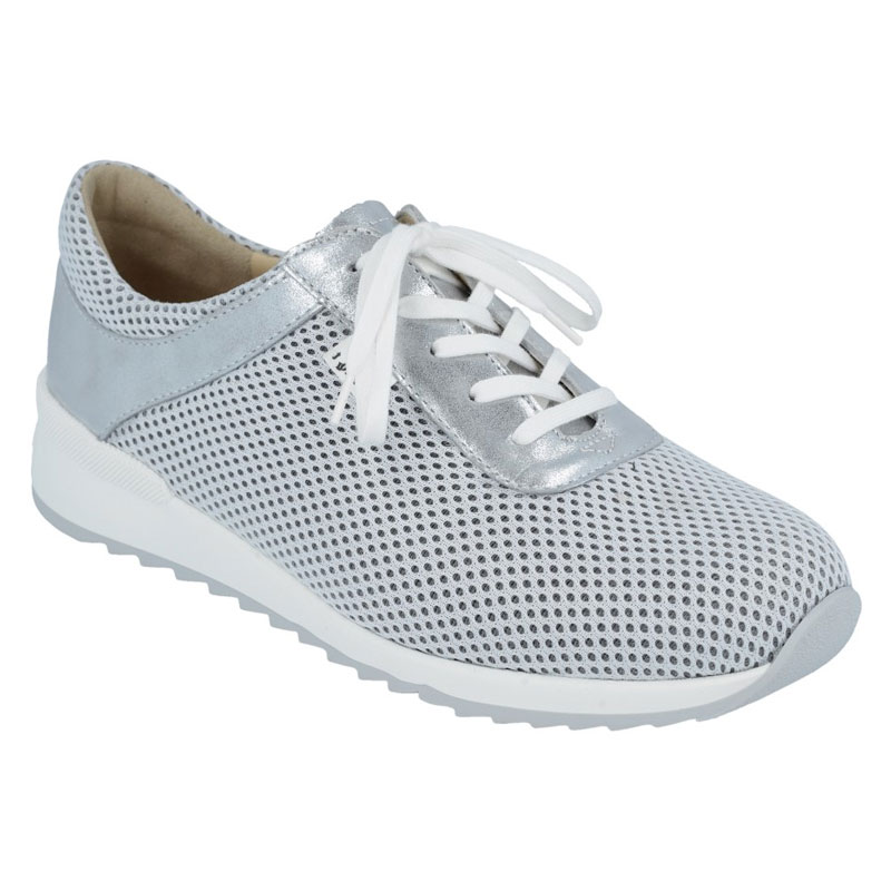 Finn Comfort Cerritos White/Silver Shoes