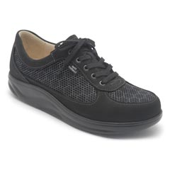 Finn Comfort Columbia Black Shoes