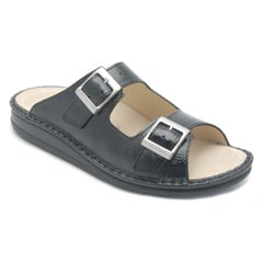 Finn Comfort Hollister Black Sandals
