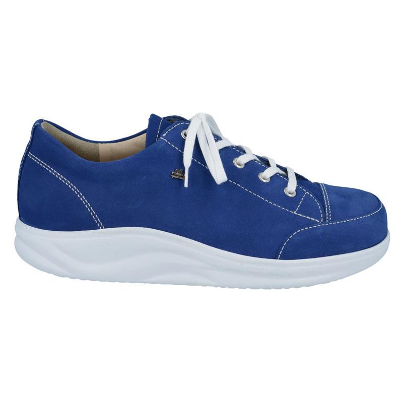 Finn Comfort Ikebukuro Cobalt Blue Nubuck Soft Footbed 45 Uk