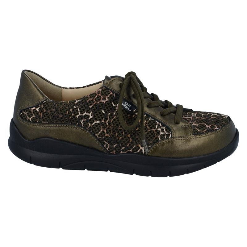 Finn Comfort Maracay Olive Leather Soft Footbed 55 Uk