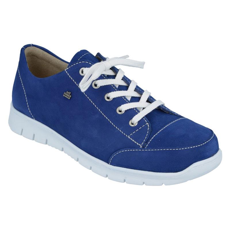 Finn Comfort Swansea Cobalt Blue Nubuck Soft Footbed 42