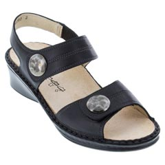 Finn Comfort Alanya Nappa Leather Black