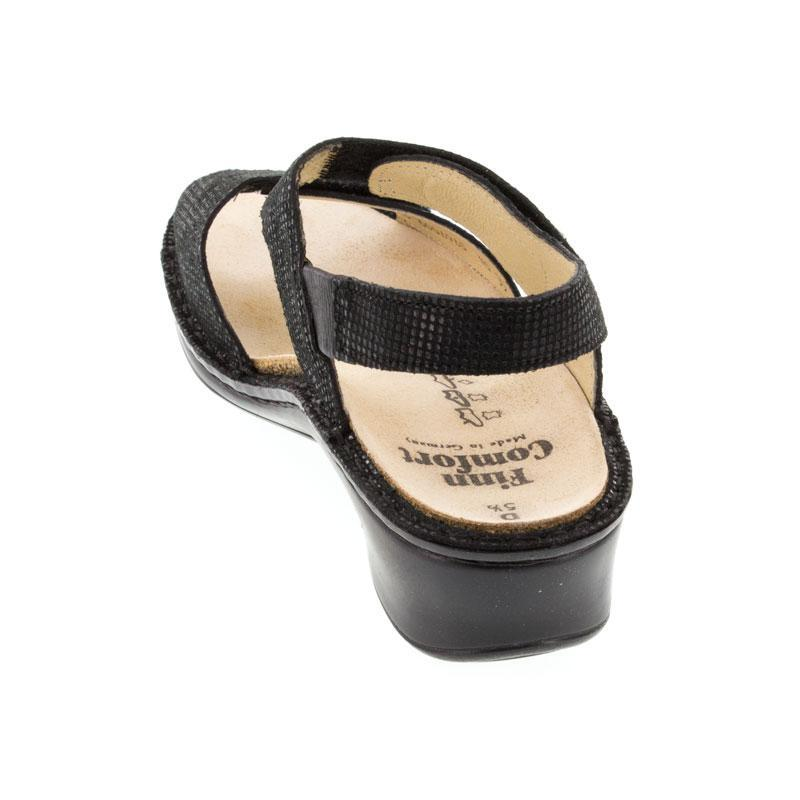 Finn Comfort Alanya Black Leather