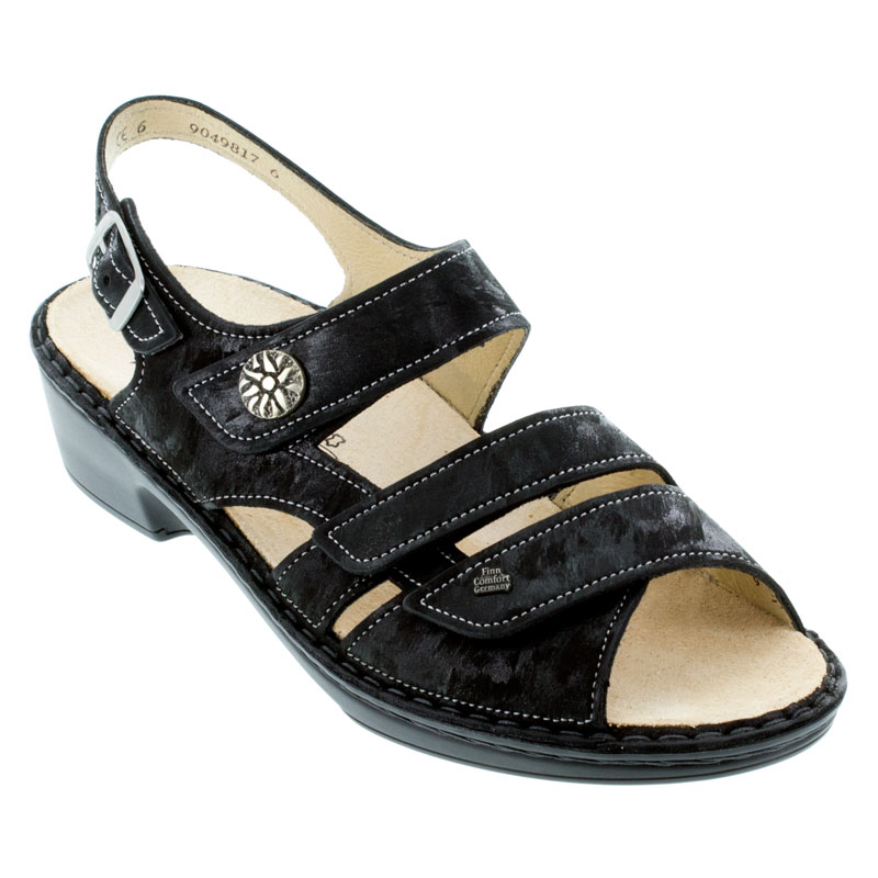 Finn Comfort Aversa Nero Leather 35 Uk